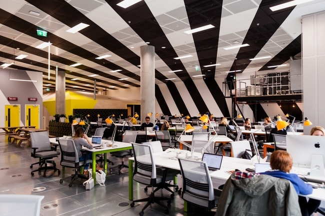 Huckletree West's flexible workspace | © Huckletree