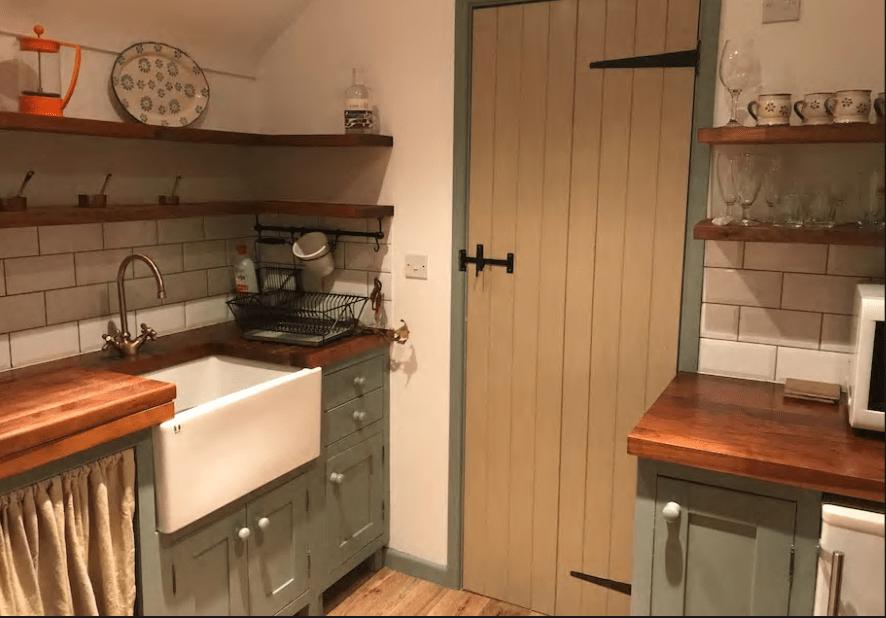 5. Handmade kitchenette - Courtesy of AirBnb