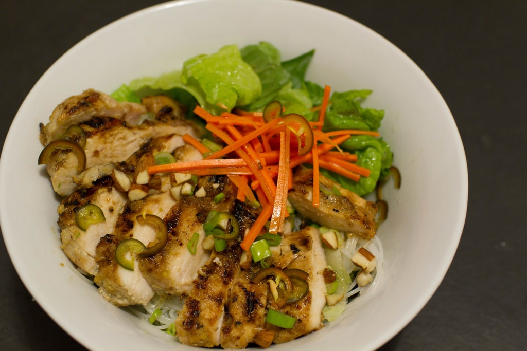 Vietnamese lemongrass chicken | © Steve Dunham/Flickr