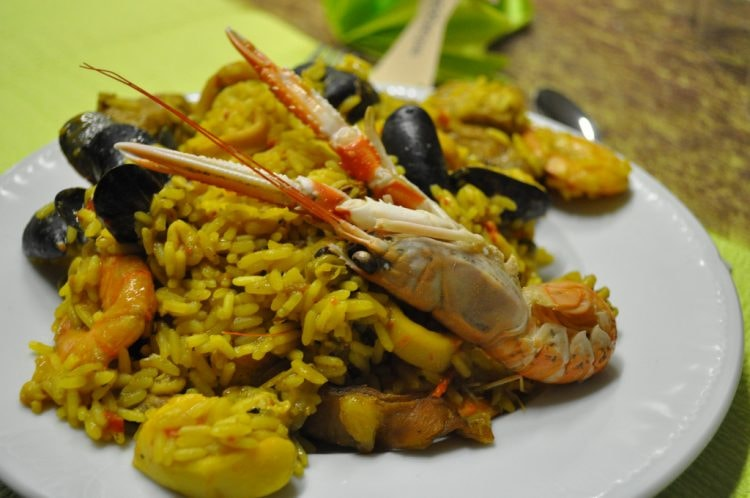 Seafood paella | © Frédérique Voisin-Demery/Flickr