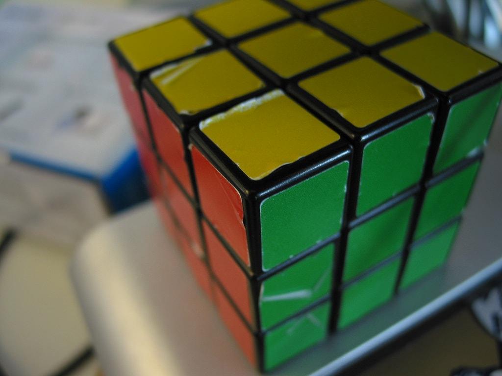 A well used Rubik's Cube | © Daniel van den Ouden/Flickr