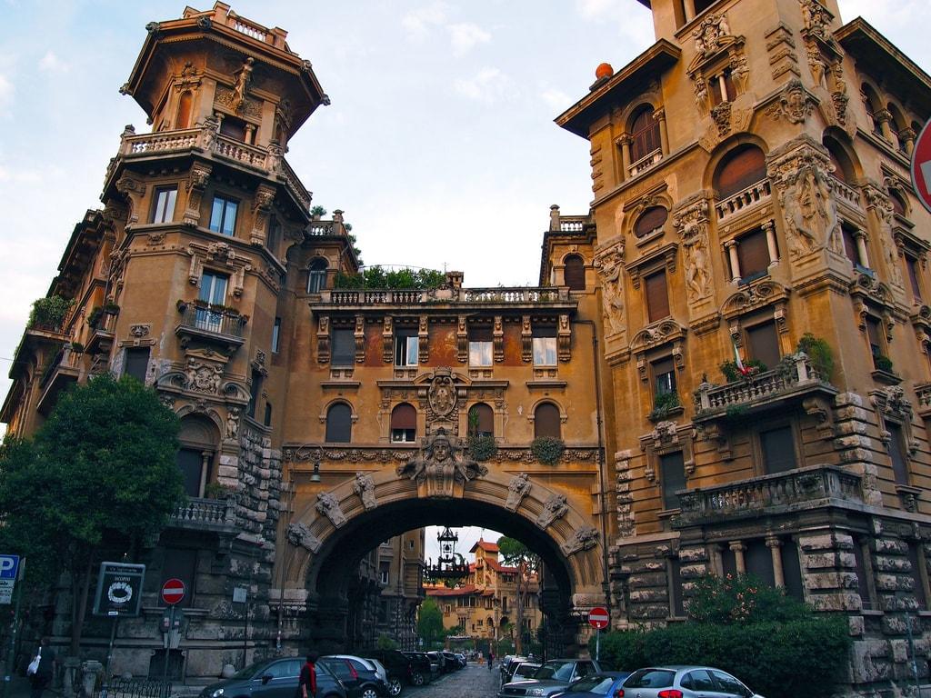 Quartiere Coppedè | © ReflectedSerendipity/Flickr
