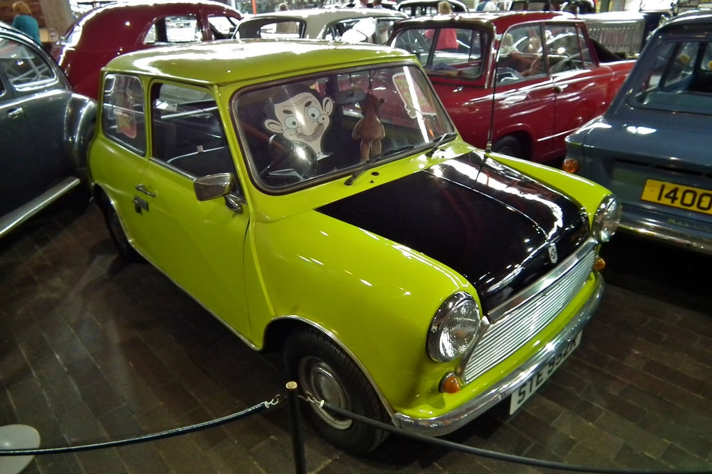 Mr.Bean and his beloved Mini | © sv1ambo/Flickr