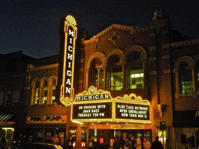 Michigan Theater | © PunkToad/Flickr
