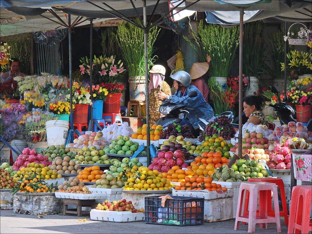 So many fruits to choose from | © Jean-Pierre Dalbéra/Flickr