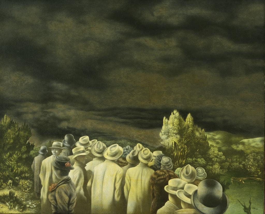 7. Richard Oelze, Expectation, 1935-36