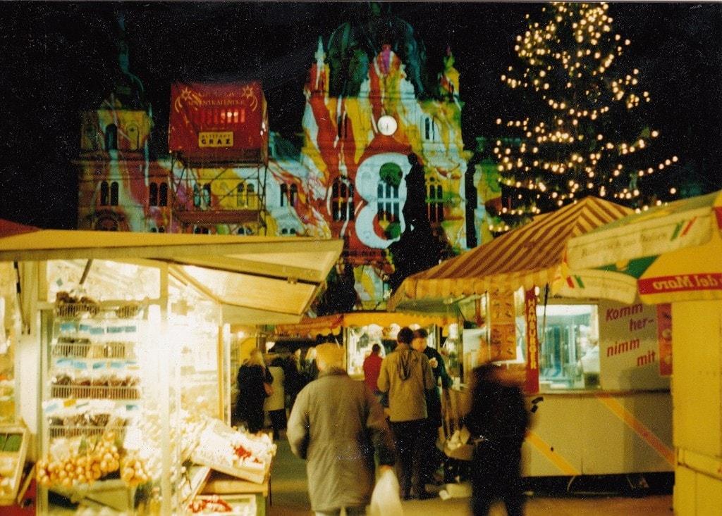 Грац Рождественский рынок
