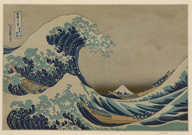'Great Wave Off Kanagawa' | © Katsushika Hokusai/Library of Congress/WikiMedia