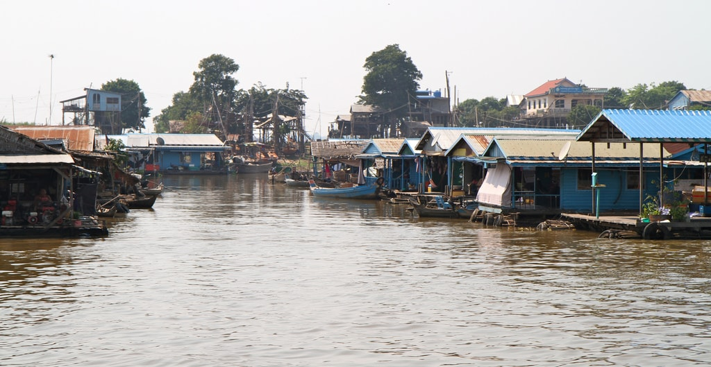 Floating village | © Jason Eppink/Flickr