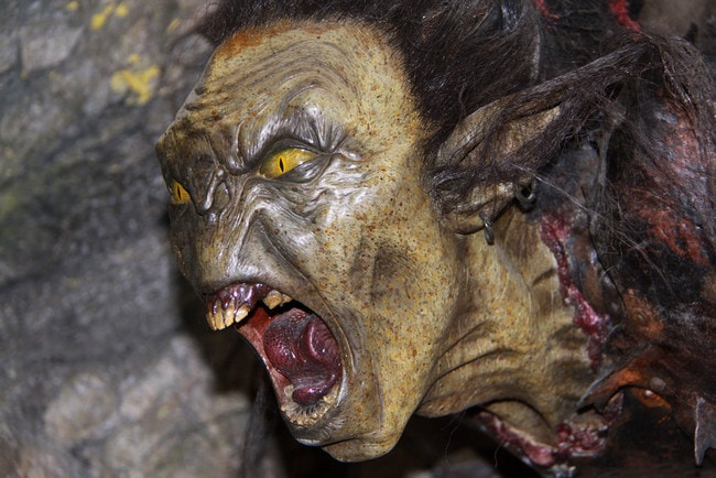 A Goblin at the Weta Cave
