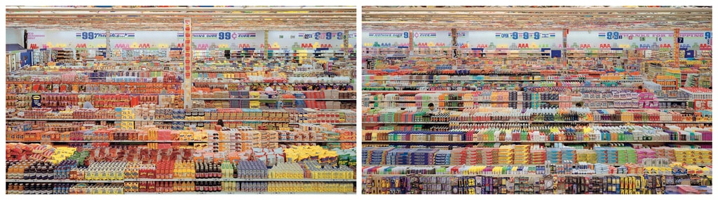 Andreas Gursky, '99 Cent II', 1999/2009 | © Andreas Gursky/DACS, 2017 Courtesy of Sprüth Magers