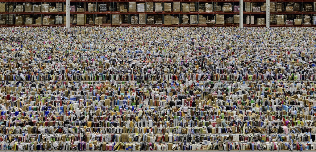 Andreas Gursky, 'Amazon', 2016 | © Andreas Gursky/DACS, 2017 Courtesy of Sprüth Magers