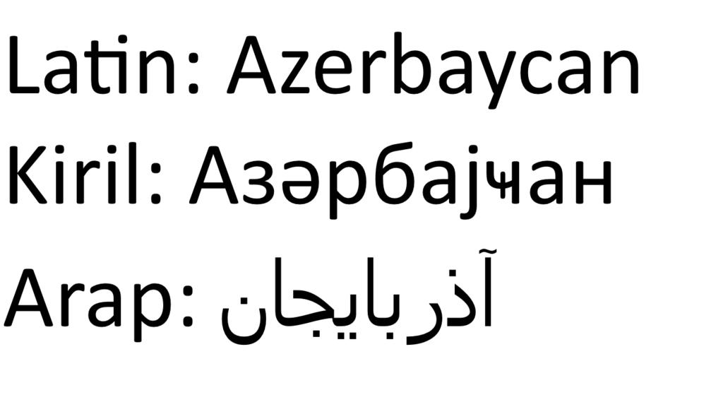 Azerbaijan_Language_Types