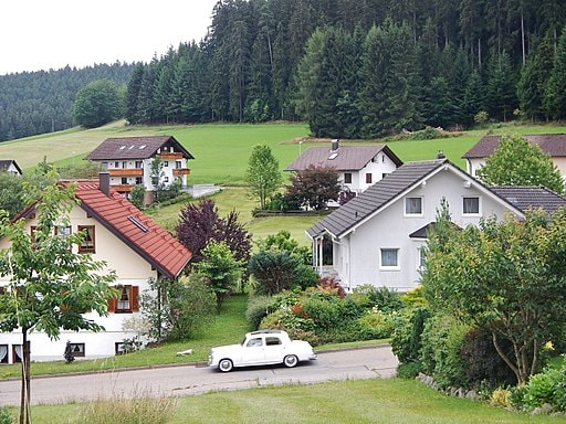 """The town ofBaiersbronn 