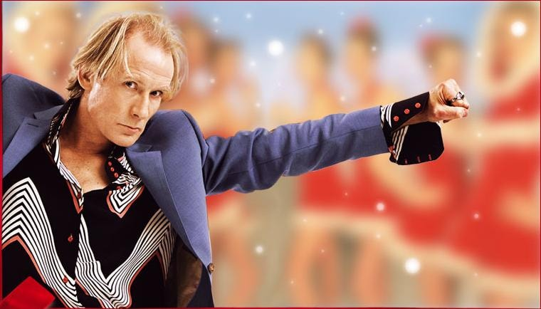 Bill Nighy in <em>Love, Actually</em>   © Universal Pictures