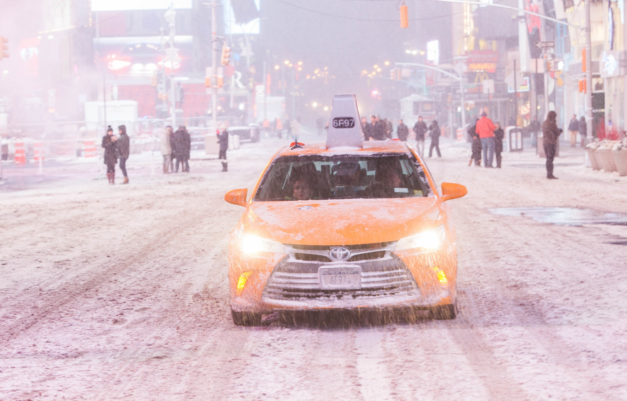Blizzard of 2015, New York | Anthony Quintano Flickr