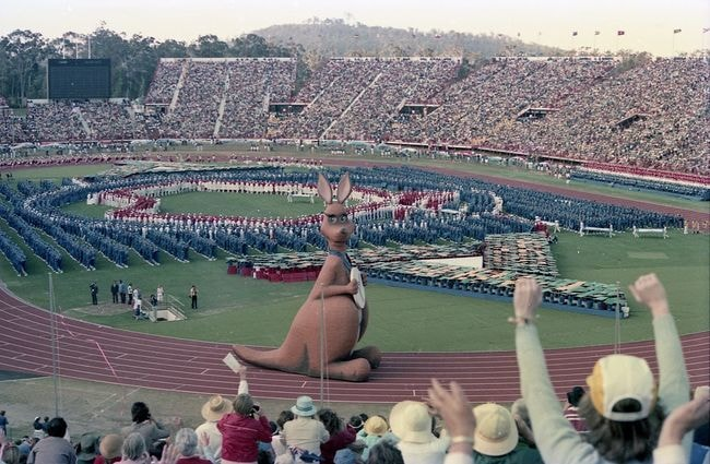 Brisbane hosts the 1982 Commonwealth Games | © Hullwarren/Wikimedia Commons