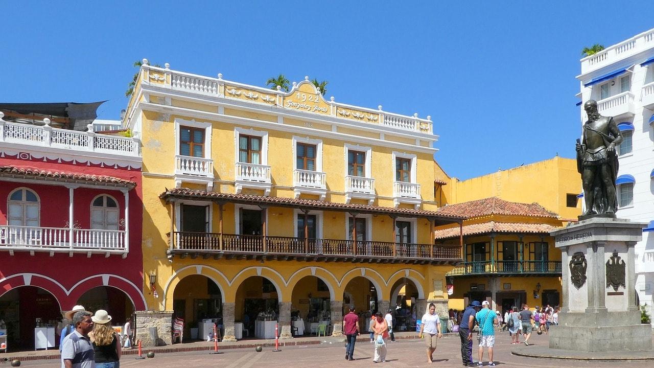 """La Cuidad Vieja, Cartagena's Old City   <a href=""""https://pixabay.com/en/caribbean-colombia-cartagena-2695093/"""" target=""""_blank"""" rel=""""noopener"""">© Neufal54/Pixabay</a>"""