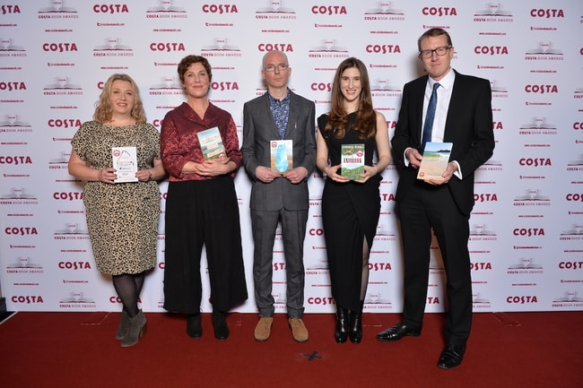 2017 Costa Book Awards