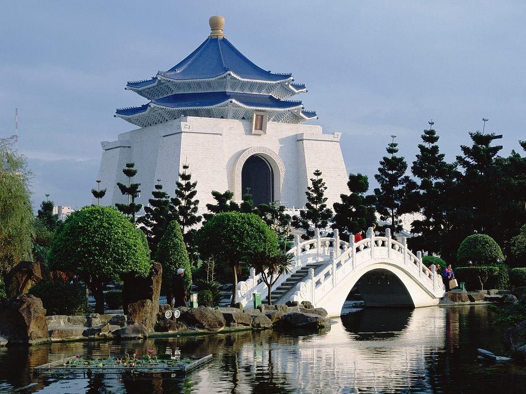 Chiang Kai-shek Memorial Hall   © bdavis545 Wikimedia