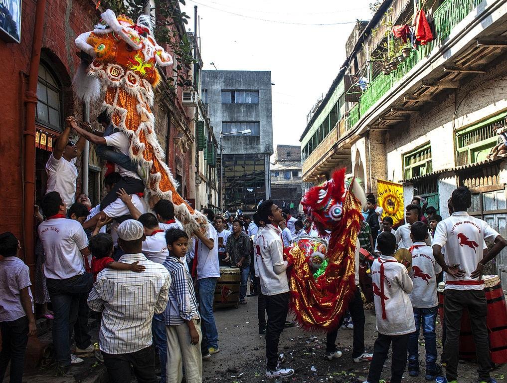 Chinese New Year, Kolkata Indrajit Das WikiCommons