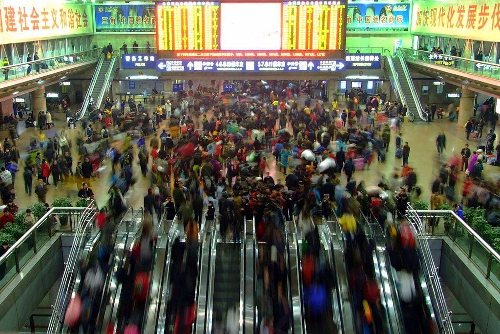Chinese New Year Travel Rush