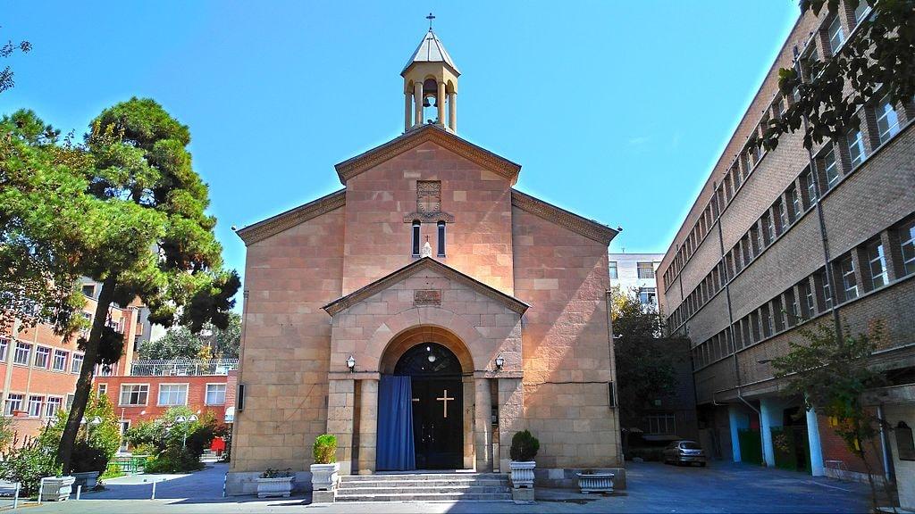 Holy Mary Church on 30 Tir Street   © Azadi68 / Wikimedia Commons