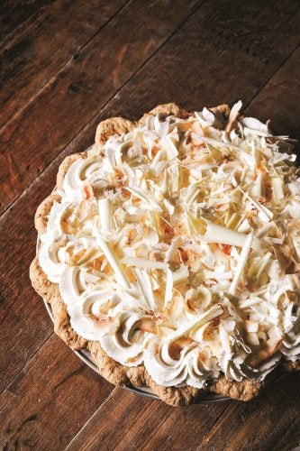 Coconut Cream Pie   Courtesy of Dahlia Bakery