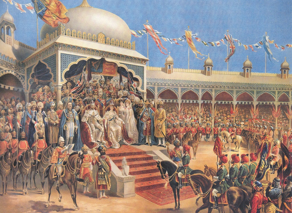 coronation ceremony displayed at 1911 restaurant at The Imperial