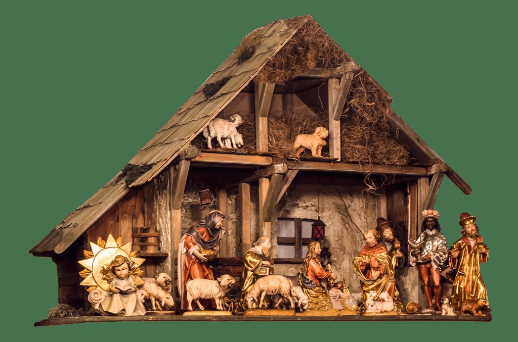 https://pixabay.com/en/crib-assembly-christmas-1075238/