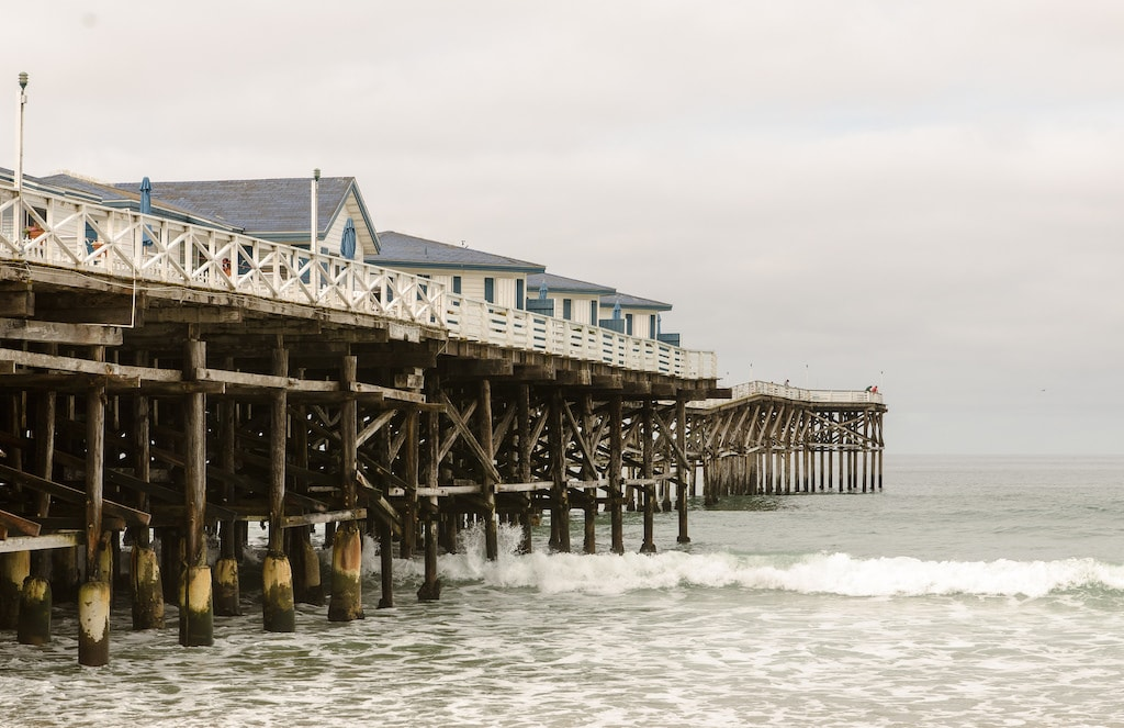 The coolest piers in california from santa monica to for Crystal pier fishing
