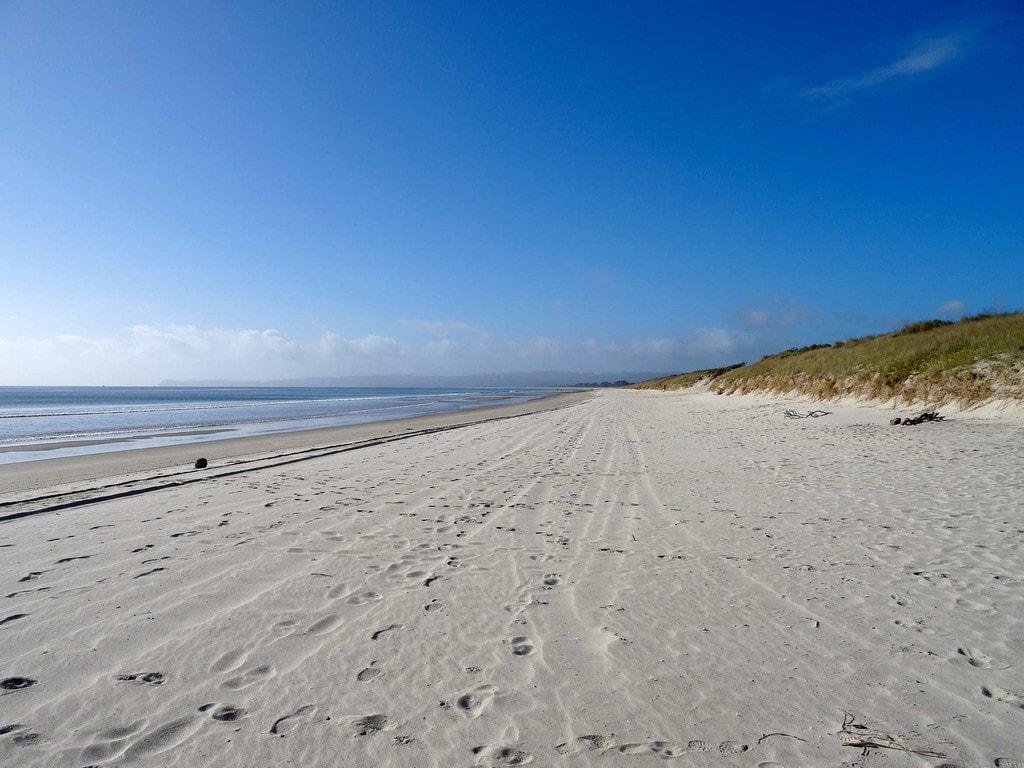 Deserted Uretiti Beach