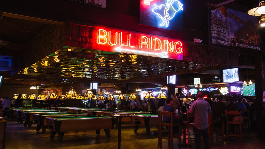 Bull Riding Billy Bob's Texas