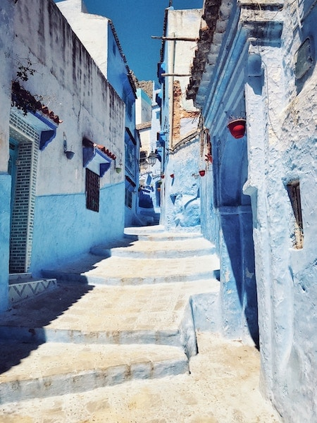 "Chefchaouen, Morocco | <a href=""https://unsplash.com/photos/WBGwG85wJWk"" target=""_blank"" rel=""noopener"">© Dimitrie Stanescu/Unsplash</a>"