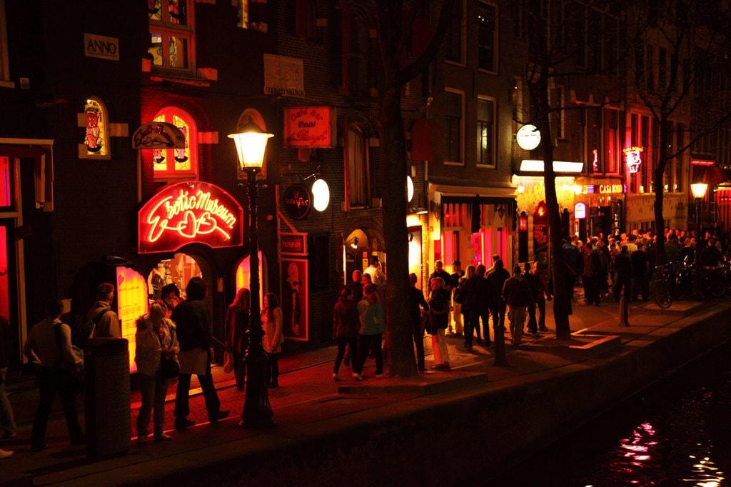 District guangzhou red light red light