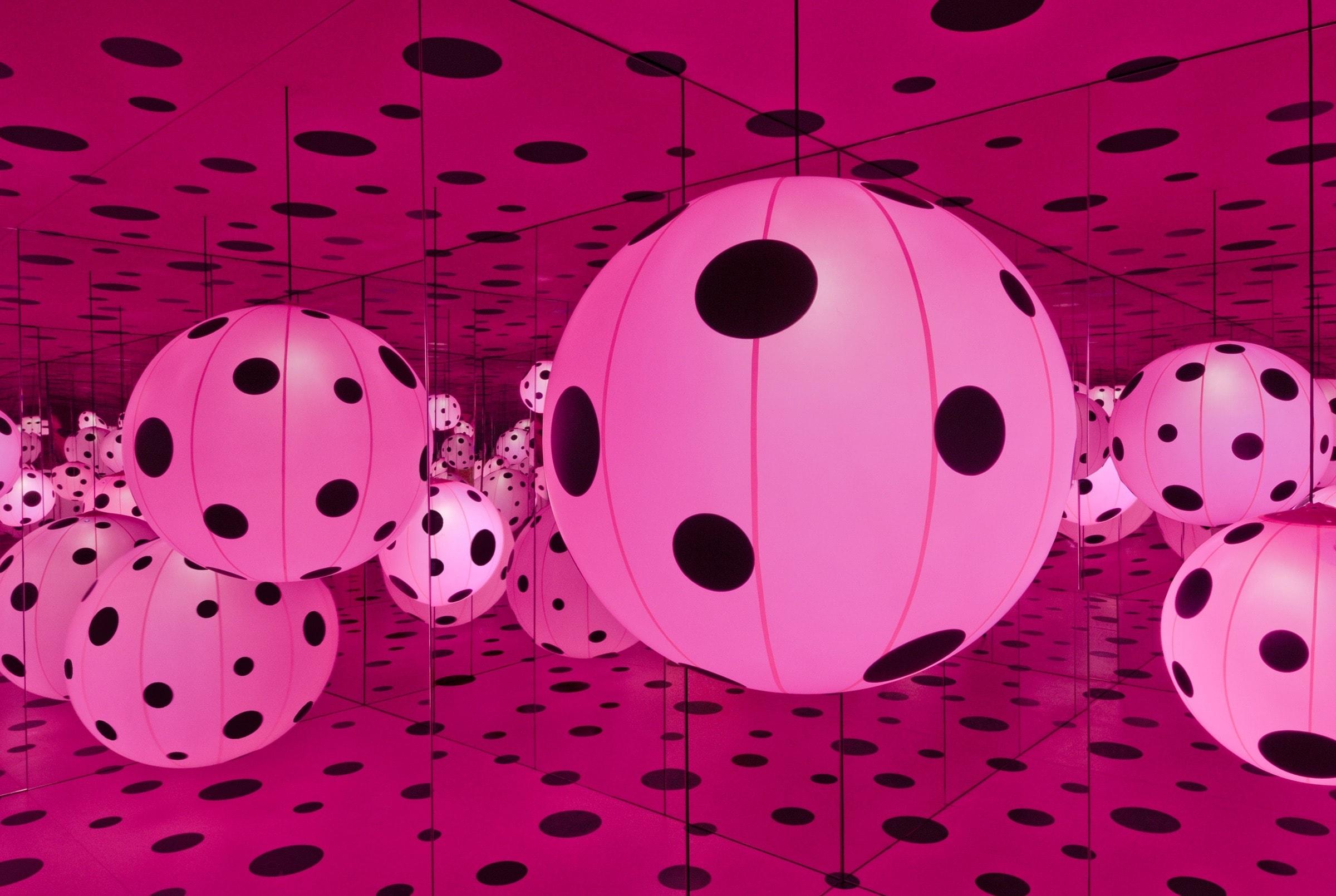 Yayoi Kusama, Dots Obsession – Love Transformed Into Dots, 2007   © Yayoi Kusama/Courtesy of Ota Fine Arts, Tokyo/Singapore; Victoria Miro, London, David Zwirner, New York. Photo by Cathy Carver.