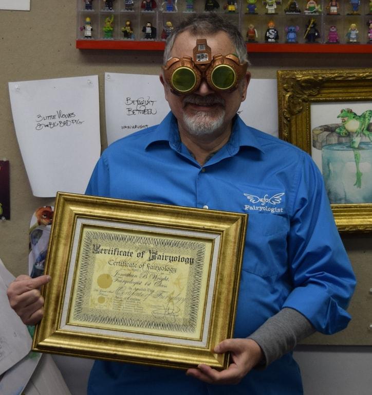 Jonathan B. Wright, certified Fairyologist | Courtesy of Jonathan B. Wright