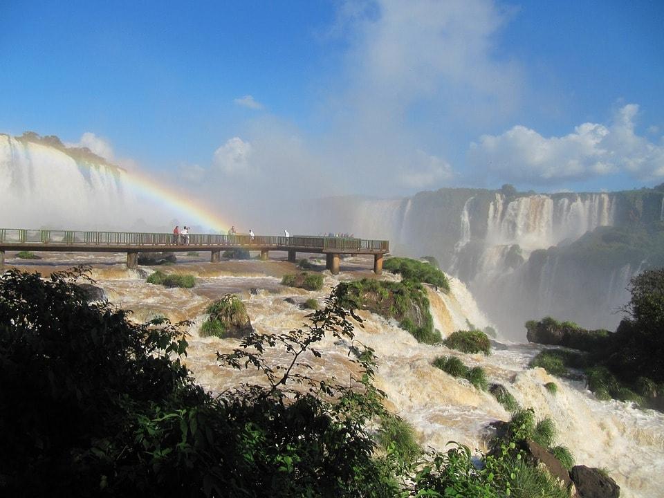 Foz Do Iguaçu Cataracts Water Falls The Iguaçu River