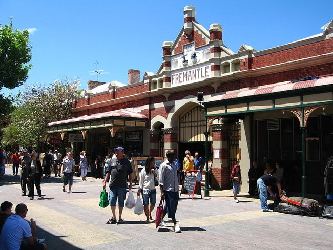 Fremantle Markets | © Greg O'Beirne/Wikimedia Commons