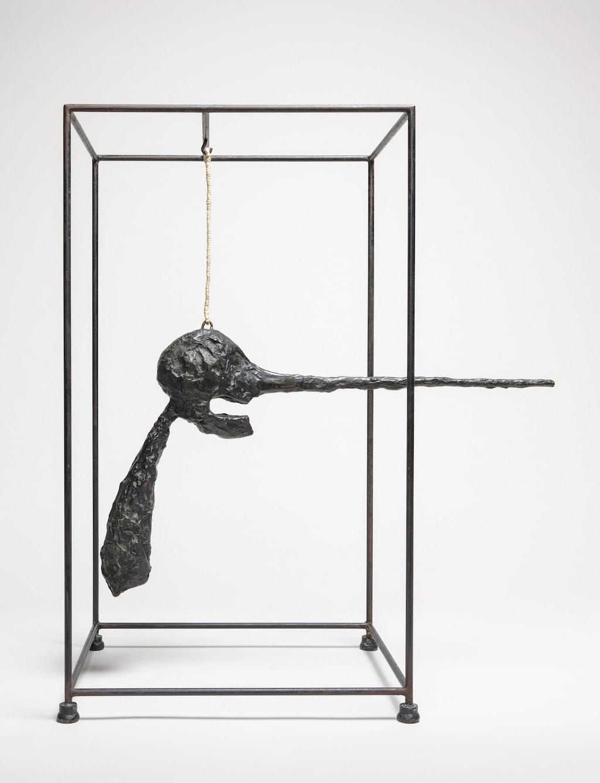 Alberto Giacometti, <em>TheNose </em>(<em>Le Nez</em>), 1947 (cast 1949). Solomon R. Guggenheim Museum, New York. © 2017 Artists Rights Society (ARS), New York/ADAGP/FAAG, Paris