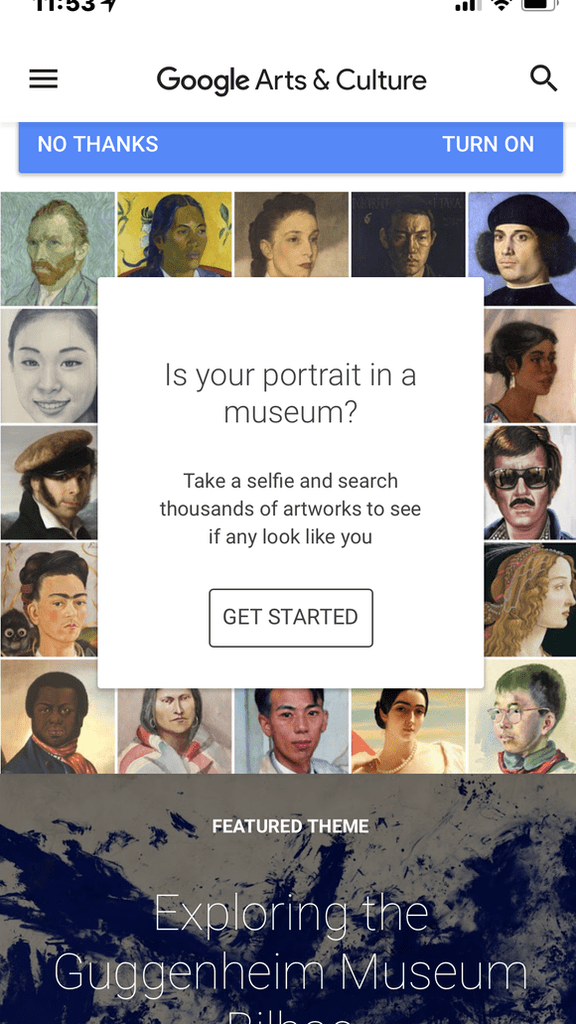 Google Arts & Culture mobile app | Courtesy of Google