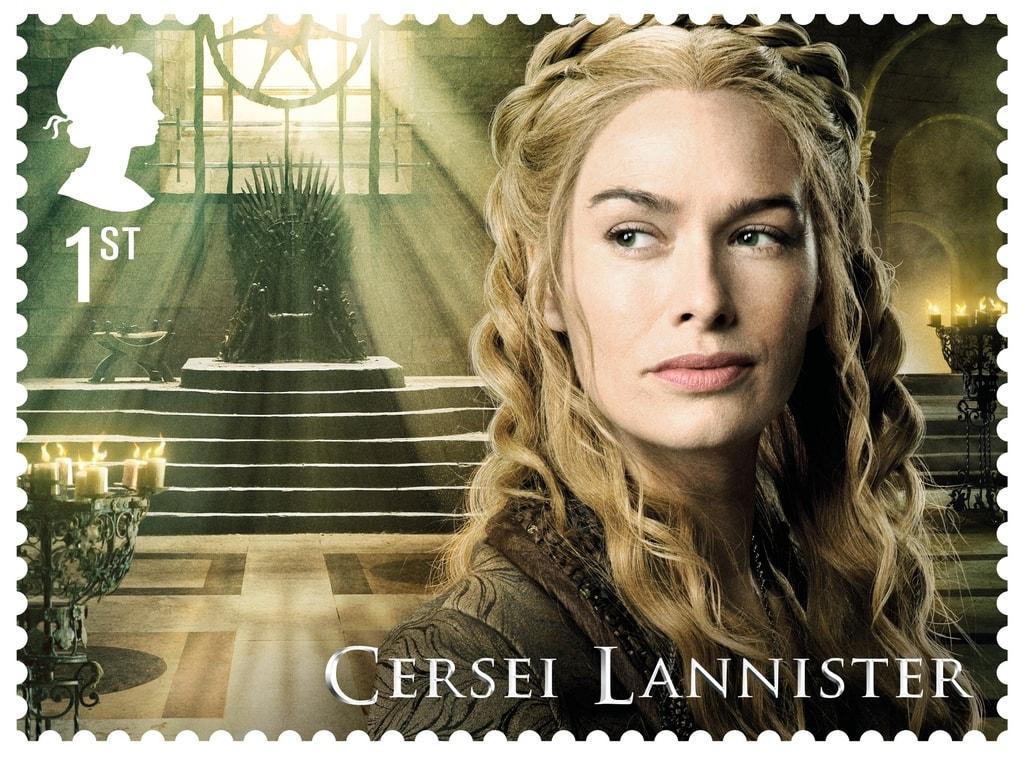 GoT Cersei Lannister stamp