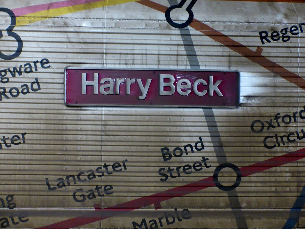 Harry Beck on tube map