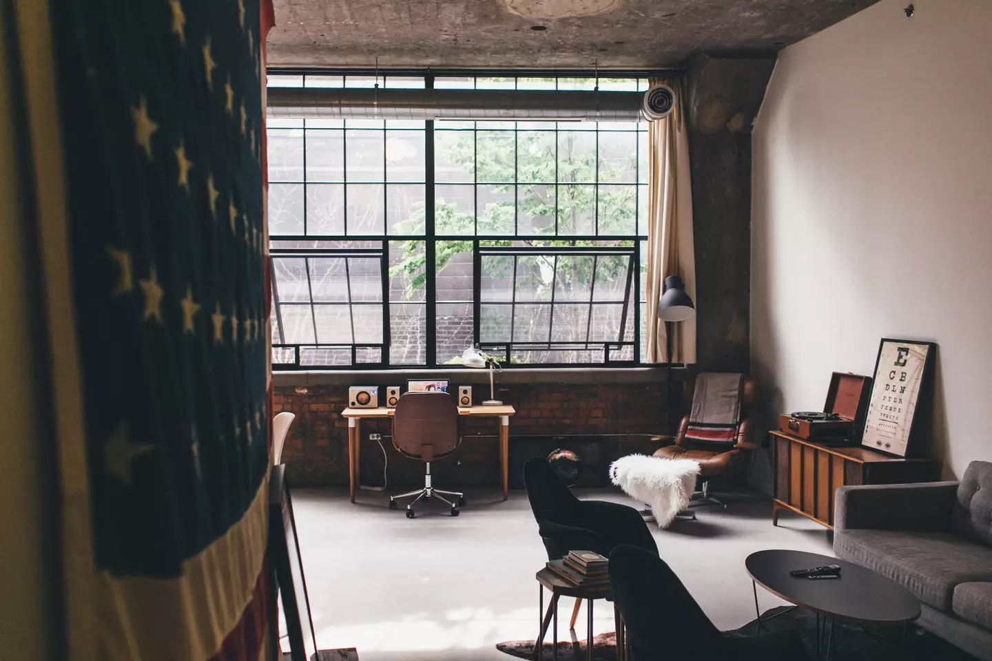 High-end Loft in Historic Building | Courtesy of Jesse:Airbnb