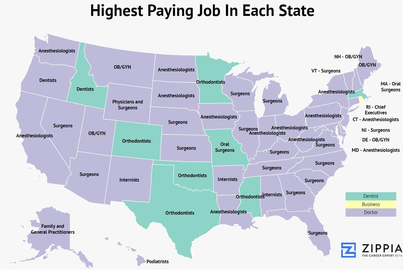 highest-paying-job-in-each-state