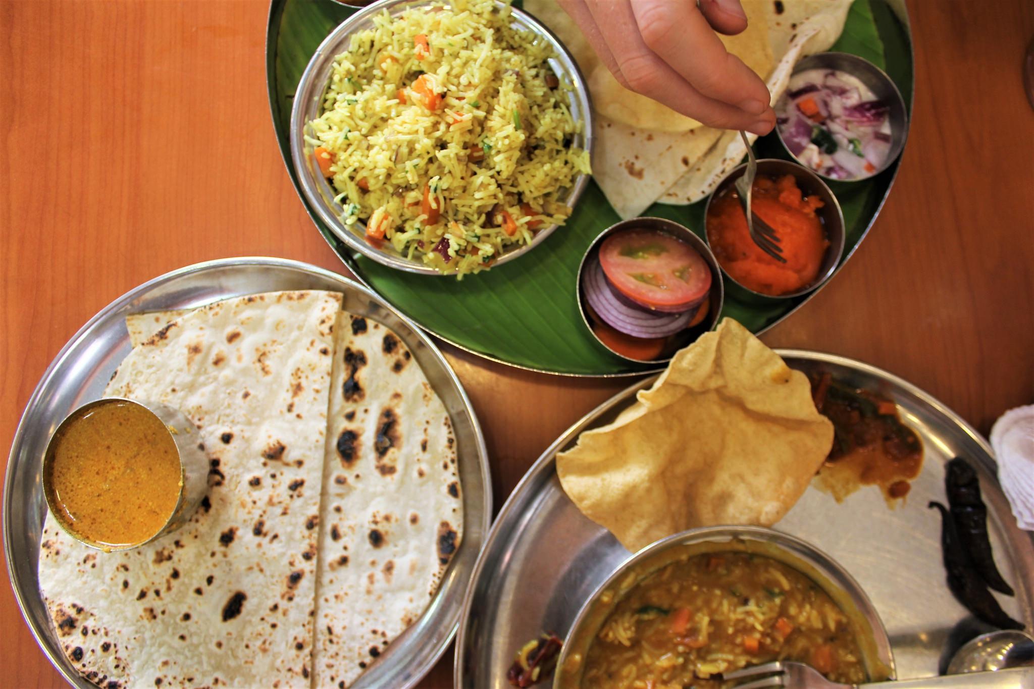 Indian food | © Charlie Marchant Flickr