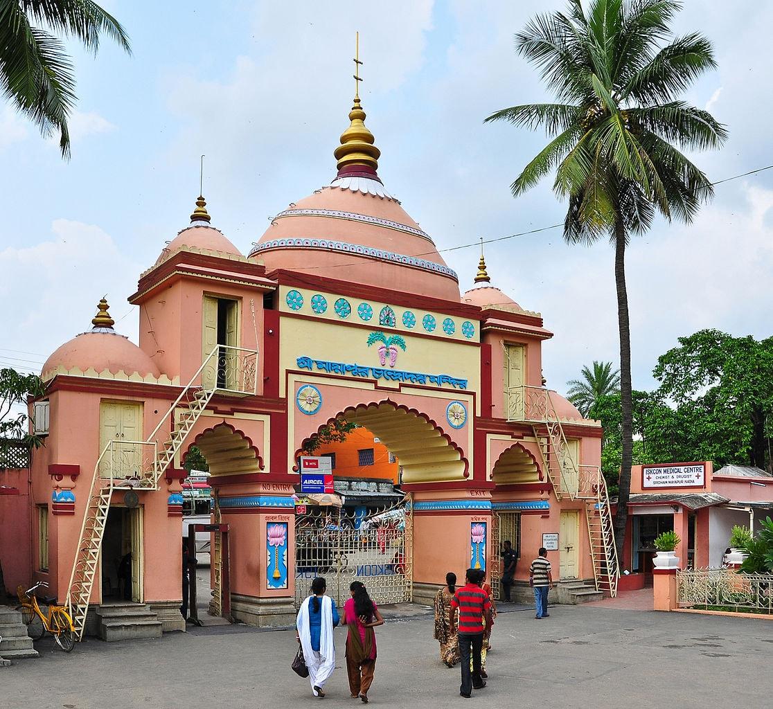 ISKCON Mayapur Joydeep WikiCommons