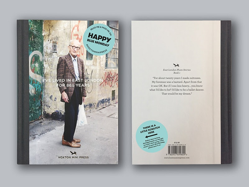 '<em>I've Lived in East London for 86 ½ Years</em>'by Martin Usborne, published by Hoxton Mini Press