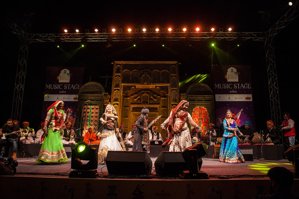 Music Stage event | Courtesy of Jaipur Literature Festival