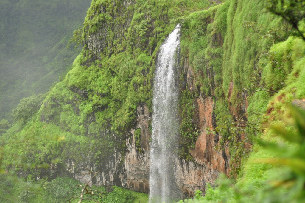 Kate Points Waterfall, Mahabaleshwar